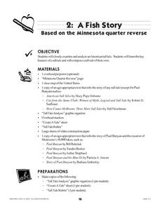 A Fish Story Lesson Plan