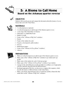 A Biome to Call Home Lesson Plan