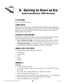 Getting To Know an Era Lesson Plan