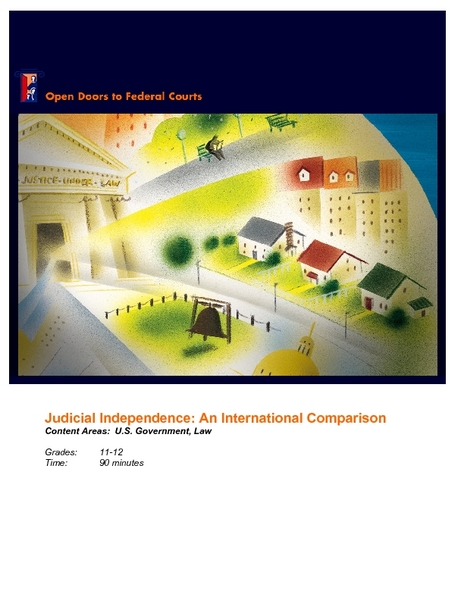 Judicial Independence: An International Comparison Lesson Plan