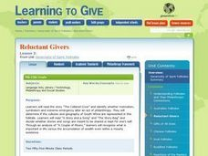 Reluctant Givers Lesson Plan