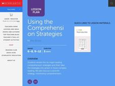 Using the Comprehension Strategies Lesson Plan