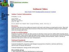 Sediment Tubes Lesson Plan