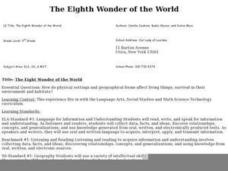 The Eighth Wonder of the World Lesson Plan