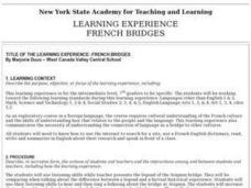 French Bridges Lesson Plan