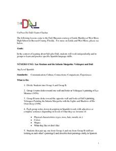 Dali and Velazquez Lesson Plan