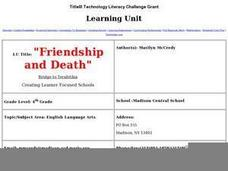 Friendship and Death Lesson Plan