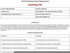 Wild, Wild, West Lesson Plan