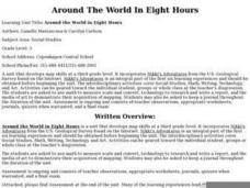 Around The World In Eight Hours Lesson Plan