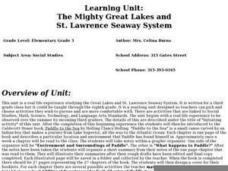 The Mighty Great Lakes and St. Lawrence Seaway System Lesson Plan