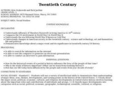 Twentieth Century Lesson Plan