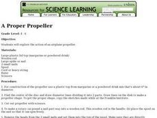 A Proper Propeller Lesson Plan