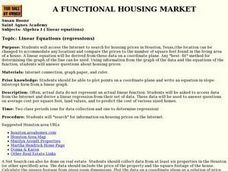 A Functional Housing Market Lesson Plan