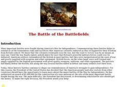 The Battle of the Battlefields Lesson Plan