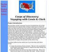 Corps of Discovery: Voyaging with Lewis and Clark Lesson Plan