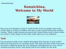 Konnichiwa, Welcome To My World Lesson Plan