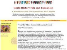 World History Fair and Exposition Lesson Plan