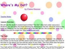 Where's My Dot? Lesson Plan