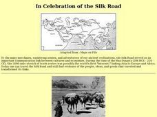 In Celebration of the Silk Road Lesson Plan