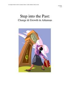 Step Into the Past: Change and Growth in Arkansas Lesson Plan