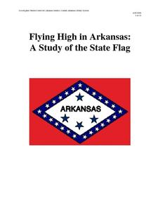 Flying High in Arkansas: A Study of the State Flag Lesson Plan