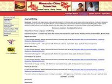Minnesota-China Connections Lesson Plan