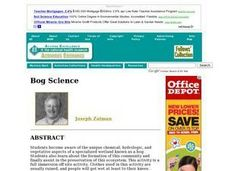 Bog Science Lesson Plan