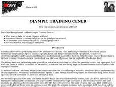 Olympic Training Center Lesson Plan