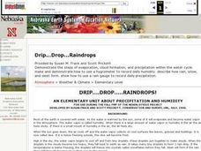 Drip... Drop... Raindrops Lesson Plan