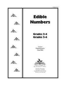 Edible Numbers Lesson Plan