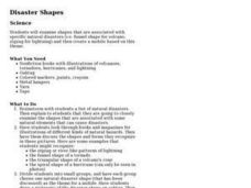 Disaster Shapes Lesson Plan