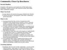 Community Close-Up Brochures Lesson Plan