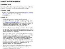 Round Robin Suspense Lesson Plan
