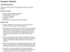 Farmers' Market Lesson Plan