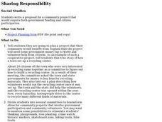 Sharing Responsibility Lesson Plan