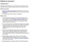 Which Is Greater? Lesson Plan