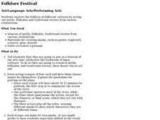 Folklore Festival Lesson Plan