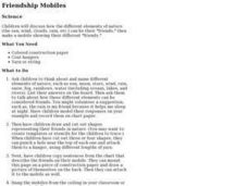 Friendship Mobiles Lesson Plan