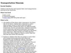 Transportation Museum Lesson Plan