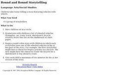 Round and Round Storytelling Lesson Plan