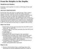 From the Heights to the Depths Lesson Plan