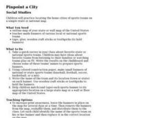 Pinpoint a City Lesson Plan
