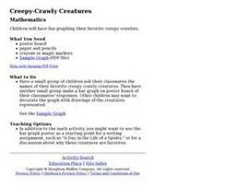 Creepy-Crawly Creatures Lesson Plan