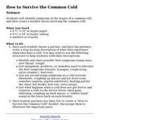 How to Survive the Common Cold Lesson Plan