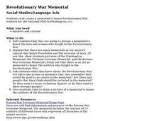 Revolutionary War Memorial Lesson Plan