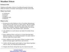 Weather Frieze Lesson Plan