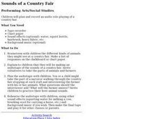 Sounds of a Country Fair Lesson Plan