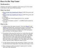 Race to the Top Game Lesson Plan