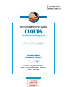 Investigating the Climate System - Clouds Lesson Plan