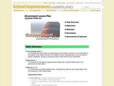 Government Lesson Plan 11 Lesson Plan